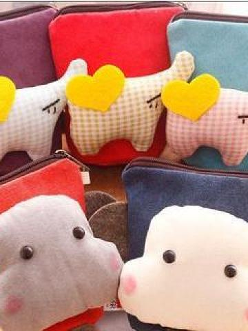 Animal Accent Coin Purse
