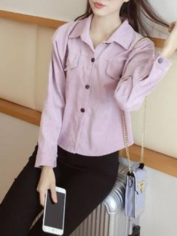 Button Jacket Pink - One Size