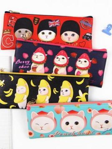 Choo Choo Cat Series Pencil Pouch
