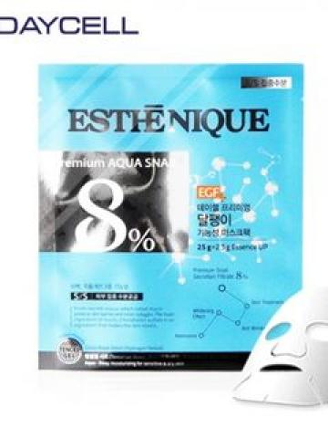 DAYCELL - Esthenique Premium Snail Aqua Mask Pack 1pc 27.5g