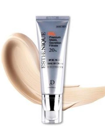 DAYCELL - Esthenique Snail BB Cream SPF50+ PA+++ 50g 50g