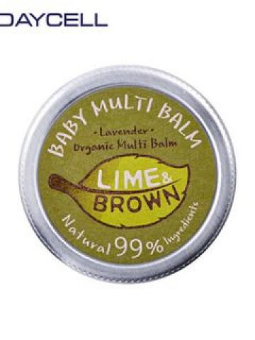 DAYCELL - Lime & Brown Multi Baby Balm (For Sensitive & Dry Skin Type) 15g 15g