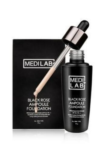 DAYCELL - MEDI LAB Black Rose Ampoule Foundation SPF30 PA++ 50g 50g