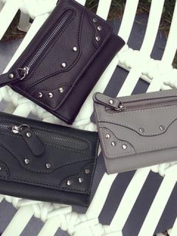 Faux-Leather Wallet