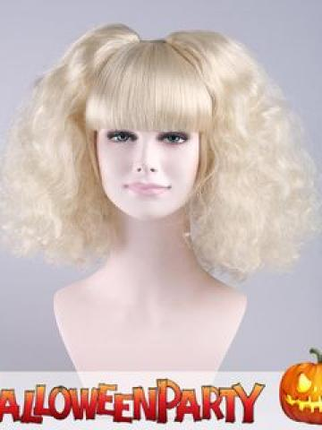 Halloween Party Wigs - Candy Angel Platinum Blonde - One Size