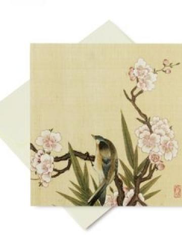 Korea Folk Greeting Card