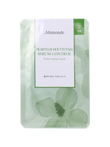 Mamonde - Flower Essence Heartleaf Houttuynia Mask (Sebum Control) 1 pc