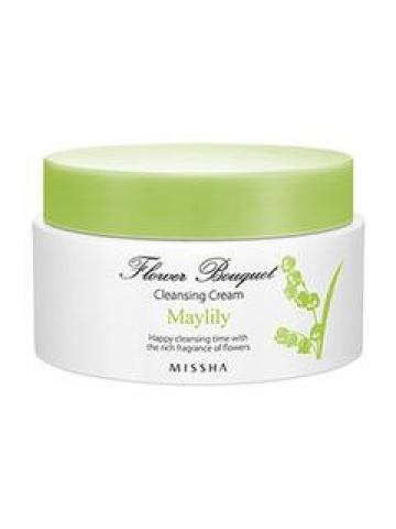 MISSHA - Flower Bouquet Maylily Cleansing Cream 182ml 182ml