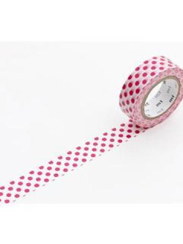 mt Masking Tape : mt 1P Dots Red