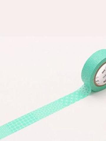 mt Masking Tape : mt 8P Line Pattern Green (8 Pieces)