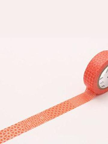 mt Masking Tape : mt 8P Line Pattern Red (8 Pieces)