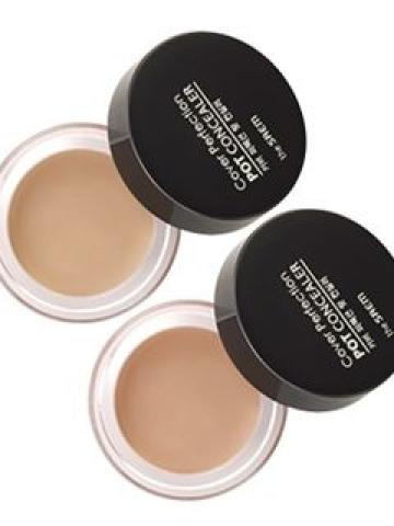 The Saem - Cover Perfection Pot Concealer #01 Clear Beige