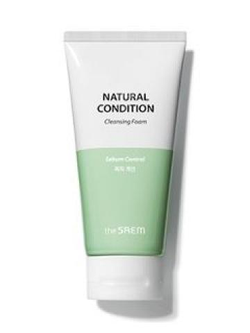 The Saem - Natural Condition Cleansing Foam - 5 Types Sebum Control